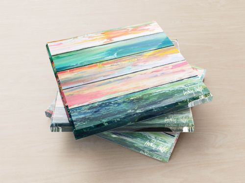 Weathered Paint - Glass Coasters